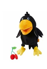 Theo the Raven Glove Puppet