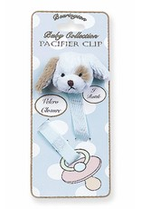 Waggles Puppy Pacifier Clip