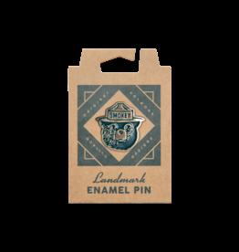 The Landmark Project Smokey Bear Enamel Pin