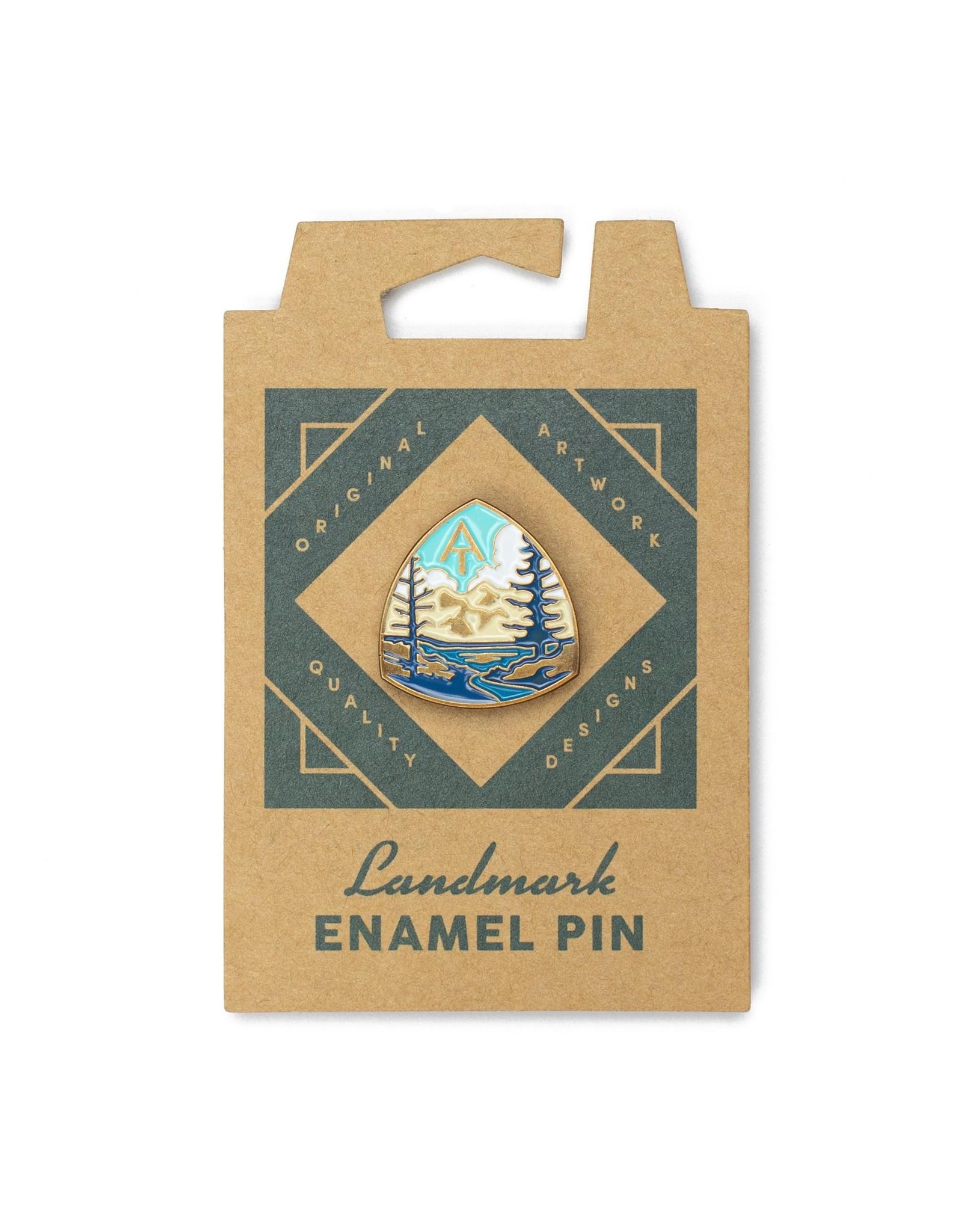 The Landmark Project Appalachian Trail Enamel Pin