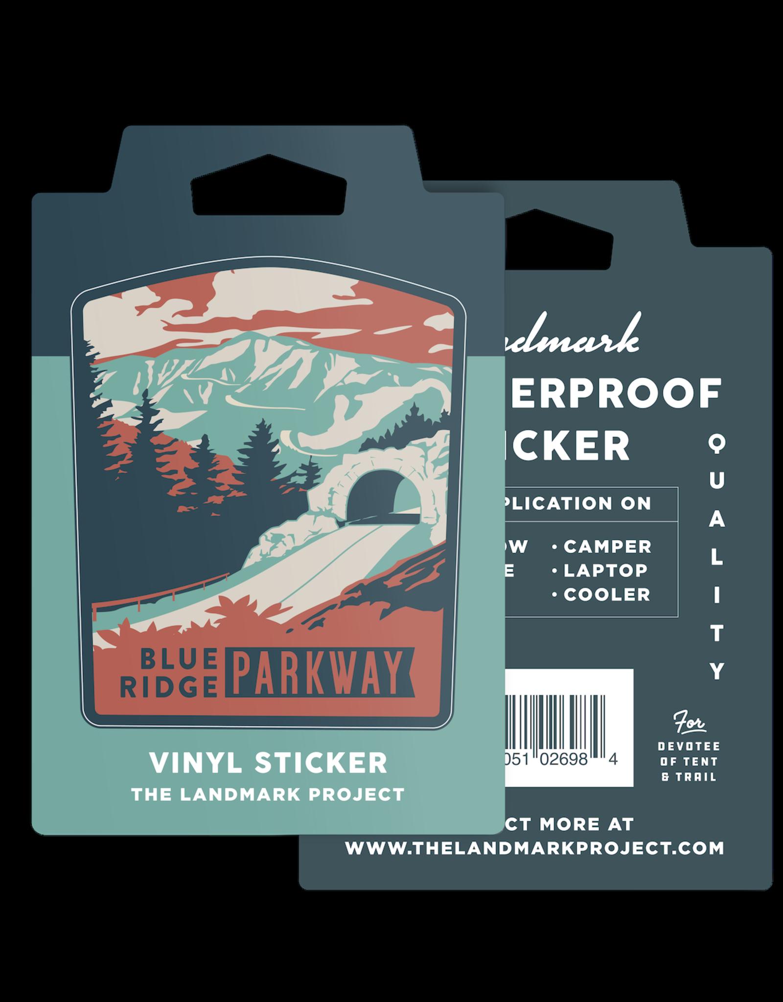 Blue Ridge Parkway - Sticker