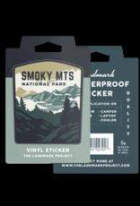 The Landmark Project Smokey Mountains National Park - Sticker