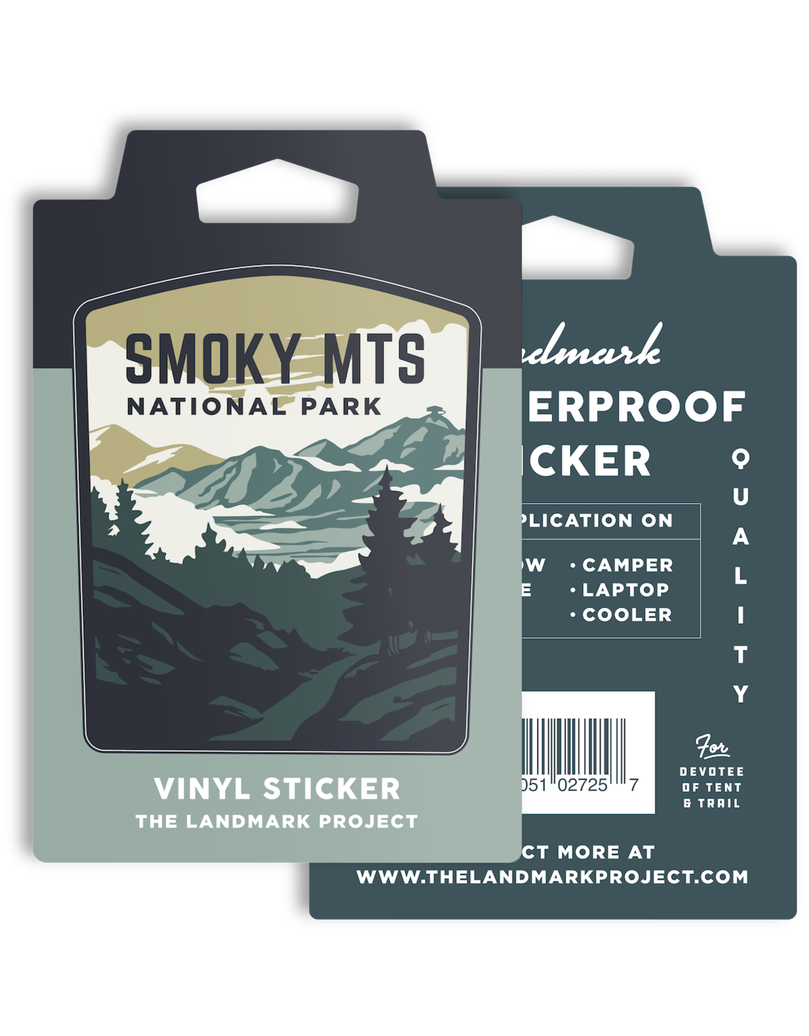 Smokey Mountains National Park - Sticker