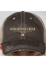 WCF Trucker Hat- Brown/Khaki