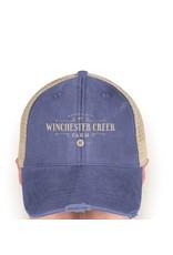 WCF Trucker Hat - Royal/Tan