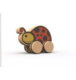 Ladybug- Garden Pals Pusharounds