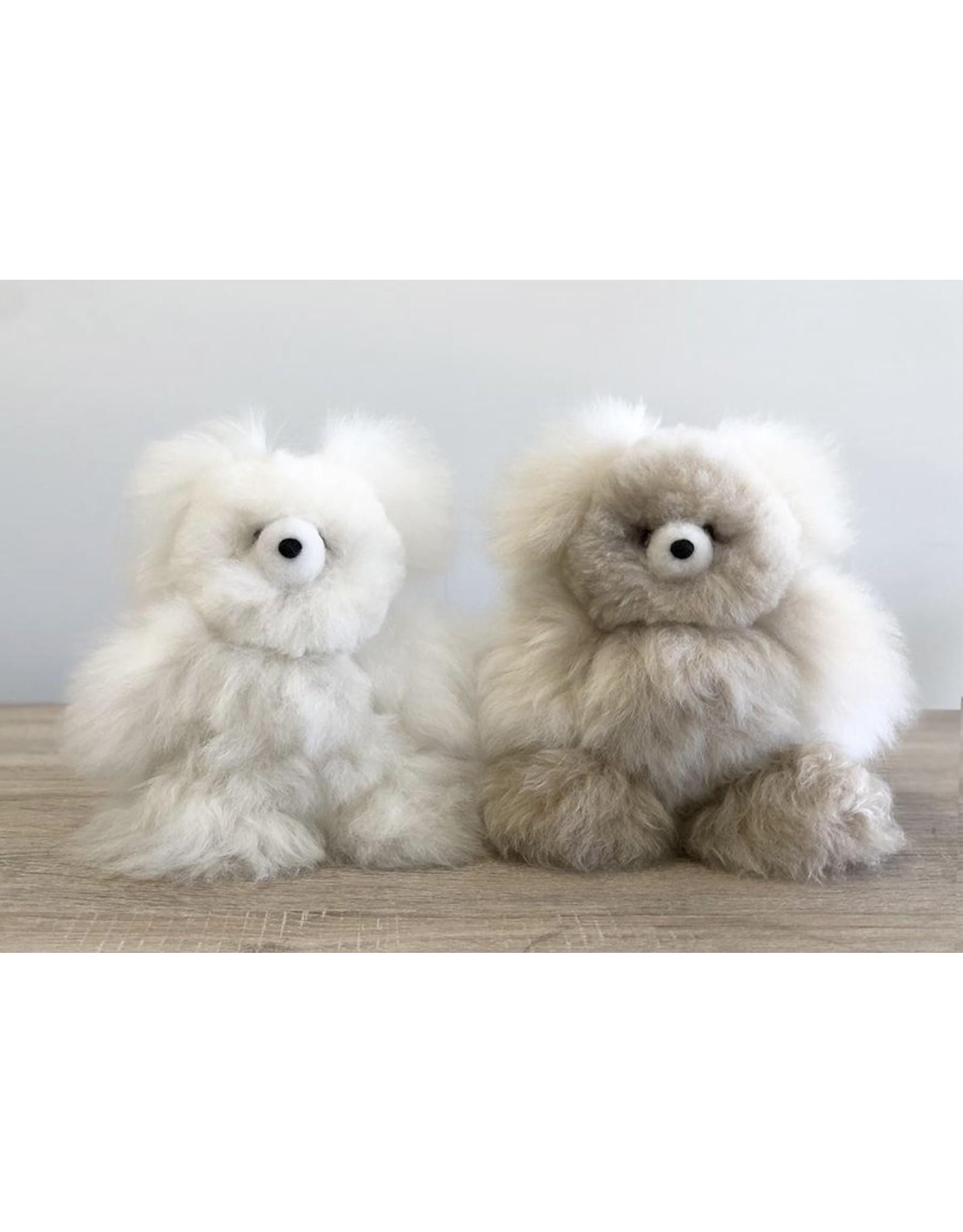 """Shupaca 10"""" Alpaca Stuffed Bear"""