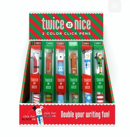 Snifty Holiday 2 Color Click Pen