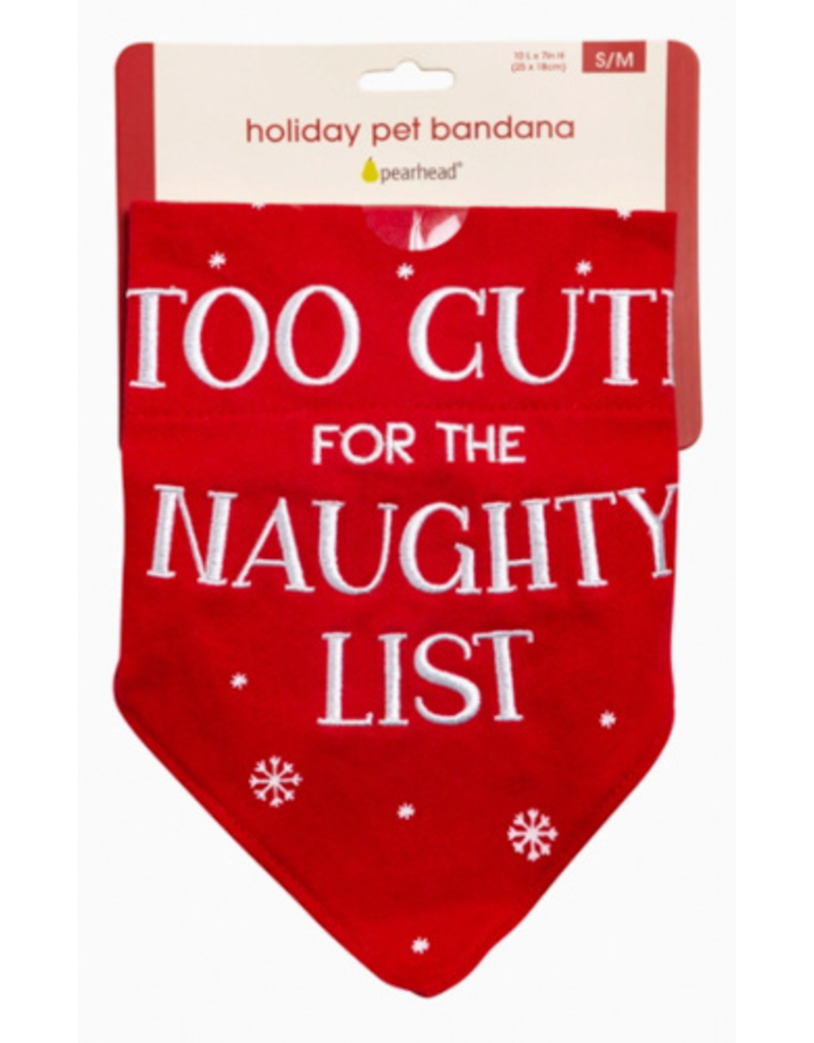 Pearhead Too Cute For The Naughty List