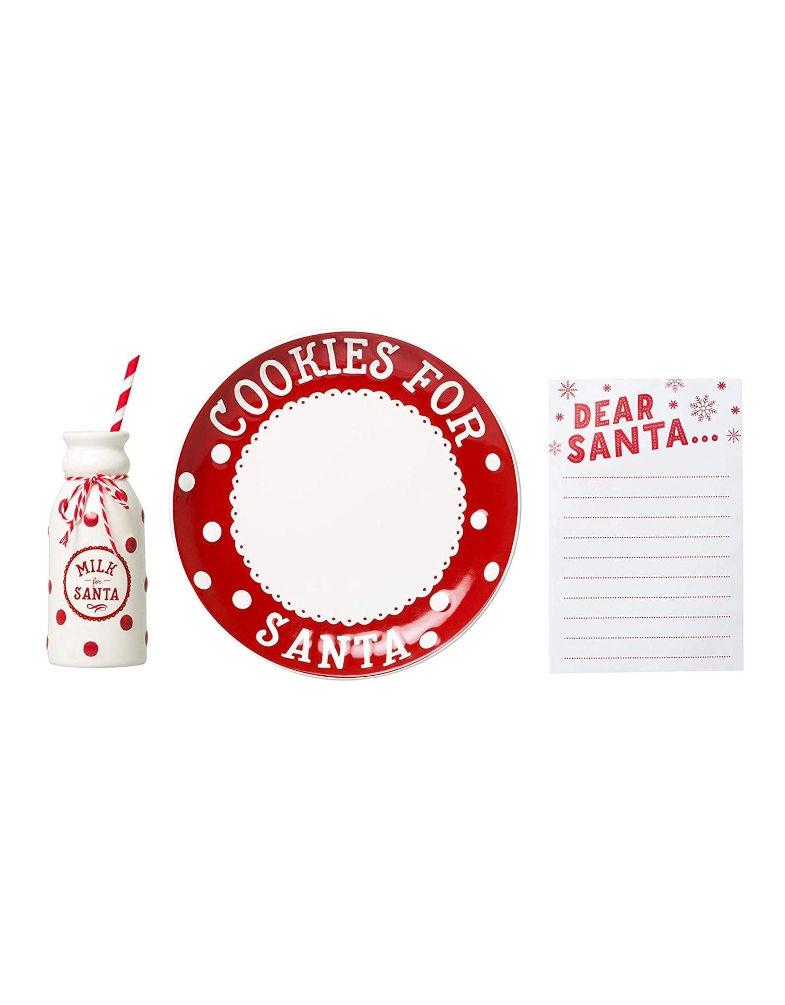 Pearhead Santa's Cookie Set