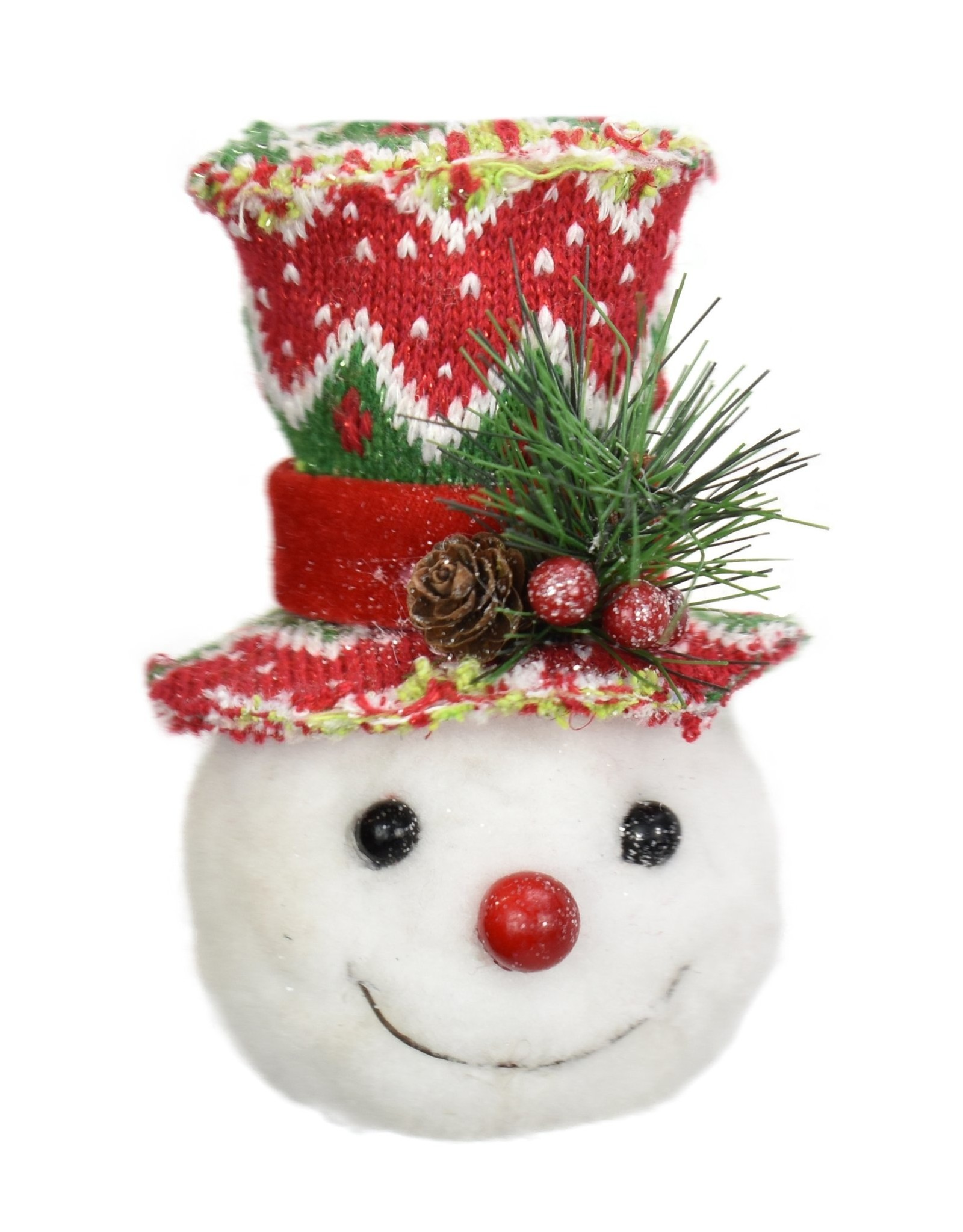 """Assorted Whimsical Wish Snowman Ornament - 6.5"""""""