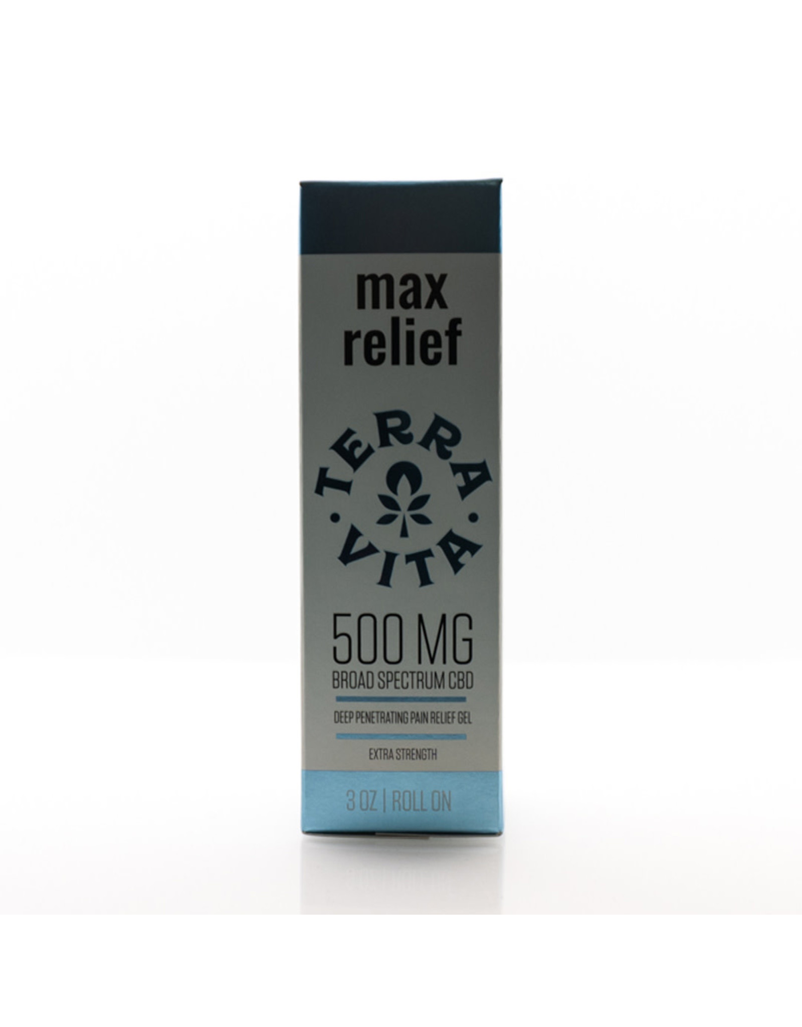 Terravita:  500mg Max Relief Pain Roll On