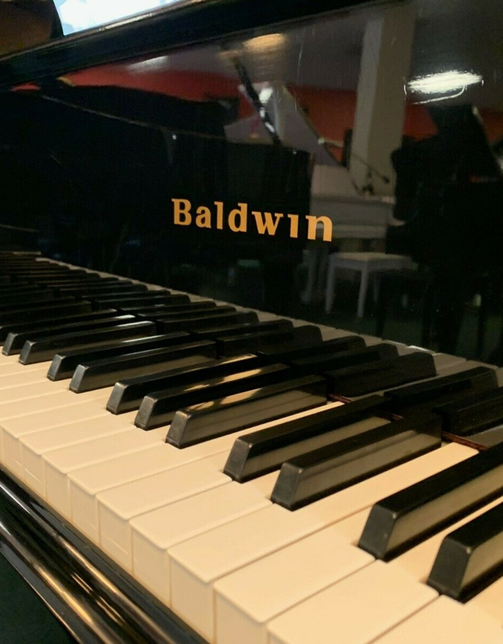 "Baldwin Baldwin ""Model L"" 6'3"" Grand Piano (High Polished Ebony) (pre-owned)"