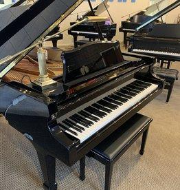 """Knabe Wm. Knabe WFM 700 6'10"""" Conservatory Artist Grand (High Polish Ebony with Birdseye Maple Inner Rim)"""