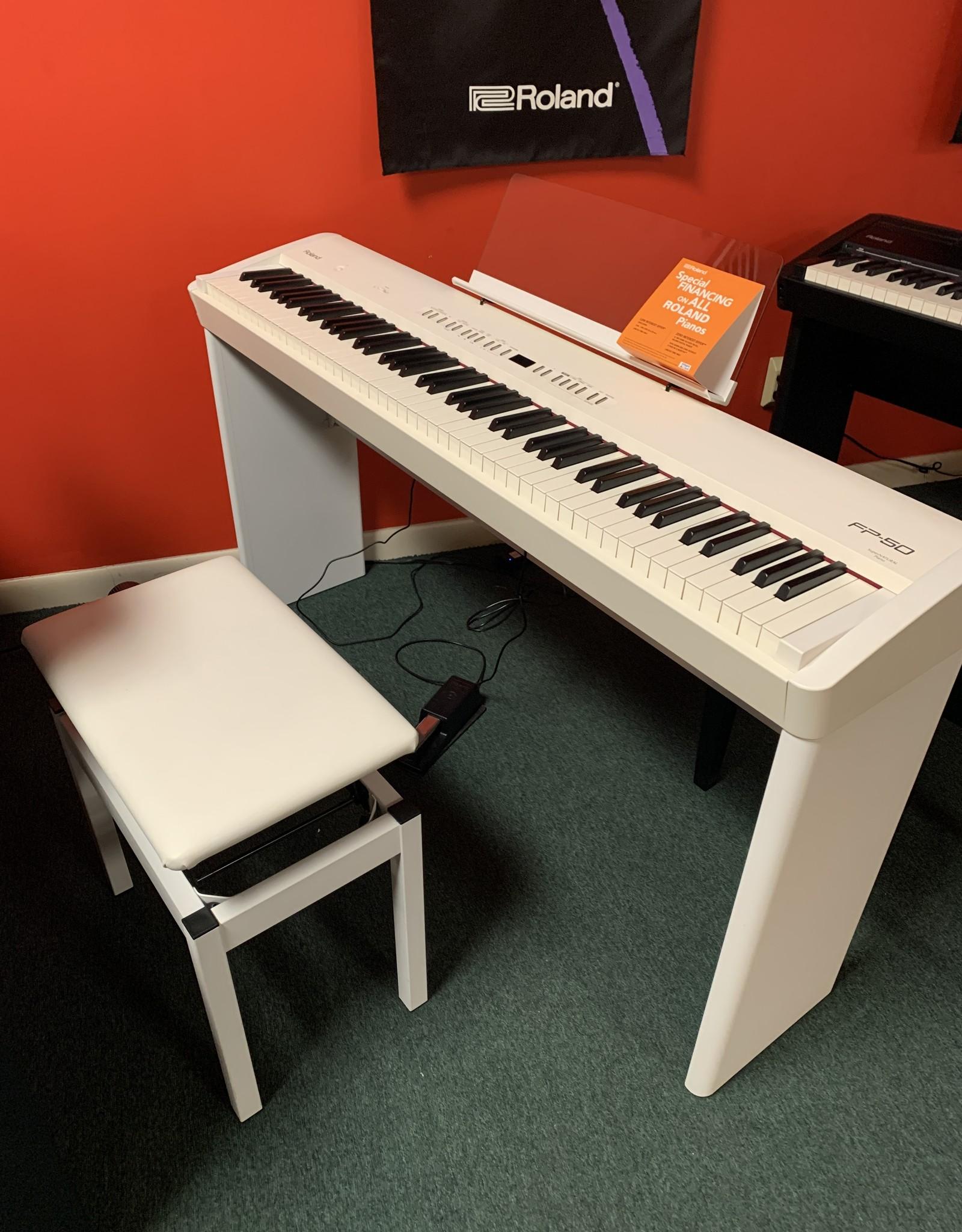 Roland Roland FP-50 Digital Piano (White)