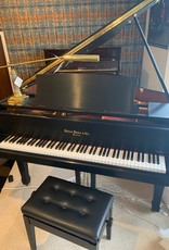 "Hallet Davis & Co. Hallet, Davis and Co. GP160 5'3"" Elite Grand Piano (Satin Ebony with Mahogony Inner Rim)"