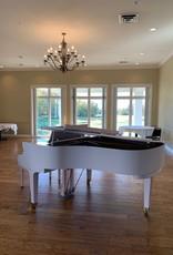 """Hamilton Hamilton H401 HPWH 6'2"""" Grand Piano (High Polish White"""