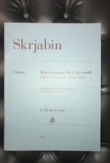 Skriabin Klaviersonate Nr. 2 - gis-moll - Opus 19 (Sonate-Fantaisie) Piano Sonata no.2 in g# minor