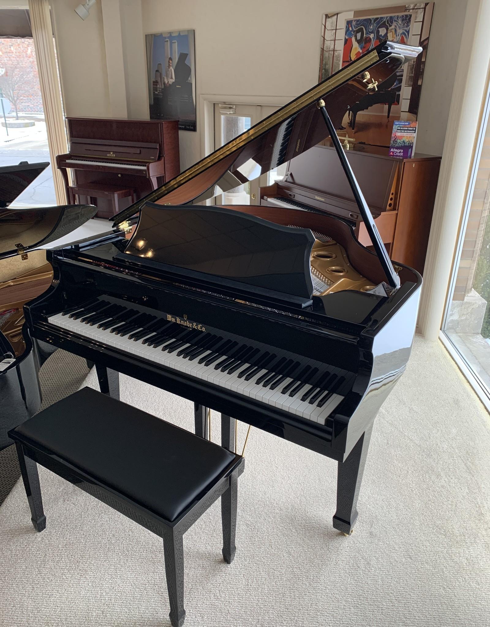 "Knabe WM Knabe WG-49 4'9"" Grand Piano(Ebony High Polish)"