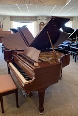 Knabe WM Knabe 59-NG  5'9 Grand Piano (Satin Walnut Laquer Semi-Gloss) W/Nickel Hardware