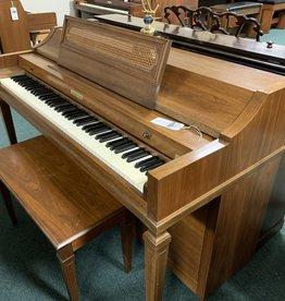 "Baldwin Baldwin 953 Acrosonic Spinet 36"" Vertical Piano French Provincial (Pecan) (pre-owned)"