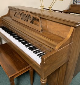 Kimball Kimball French Provincial Console Piano (Pecan)(pre-owned)