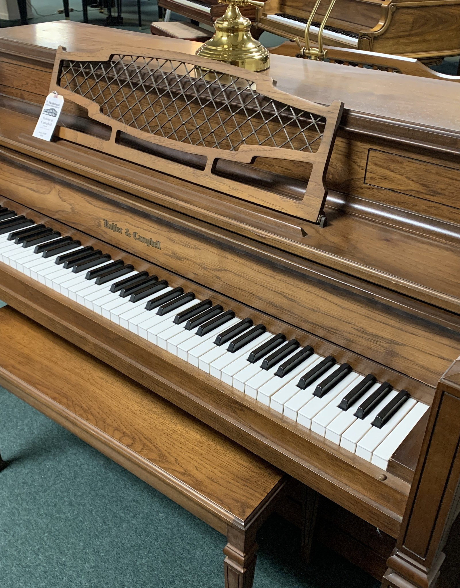 Kohler & Campbell Kohler & Campbell Italian Provincial Console Piano (Pre-owned)