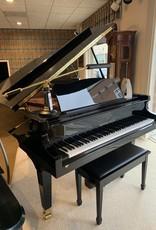 """Seiler Johannes Seiler GS-160 5'3"""" Grand Piano (High Polish Ebony with Mahogony Inner Rim)"""