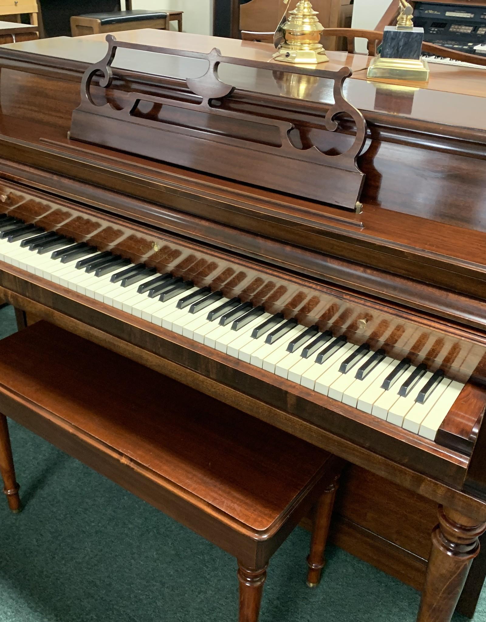 Wurlitzer Wurlitzer Console Piano (Mahogany)(Pre-Owned)