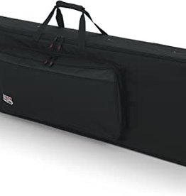 Gator GK-88-SLIM Rigid EPS Foam LIghtweight Case w/ Wheels for 88 Note Keyboards. Reduced Depth.