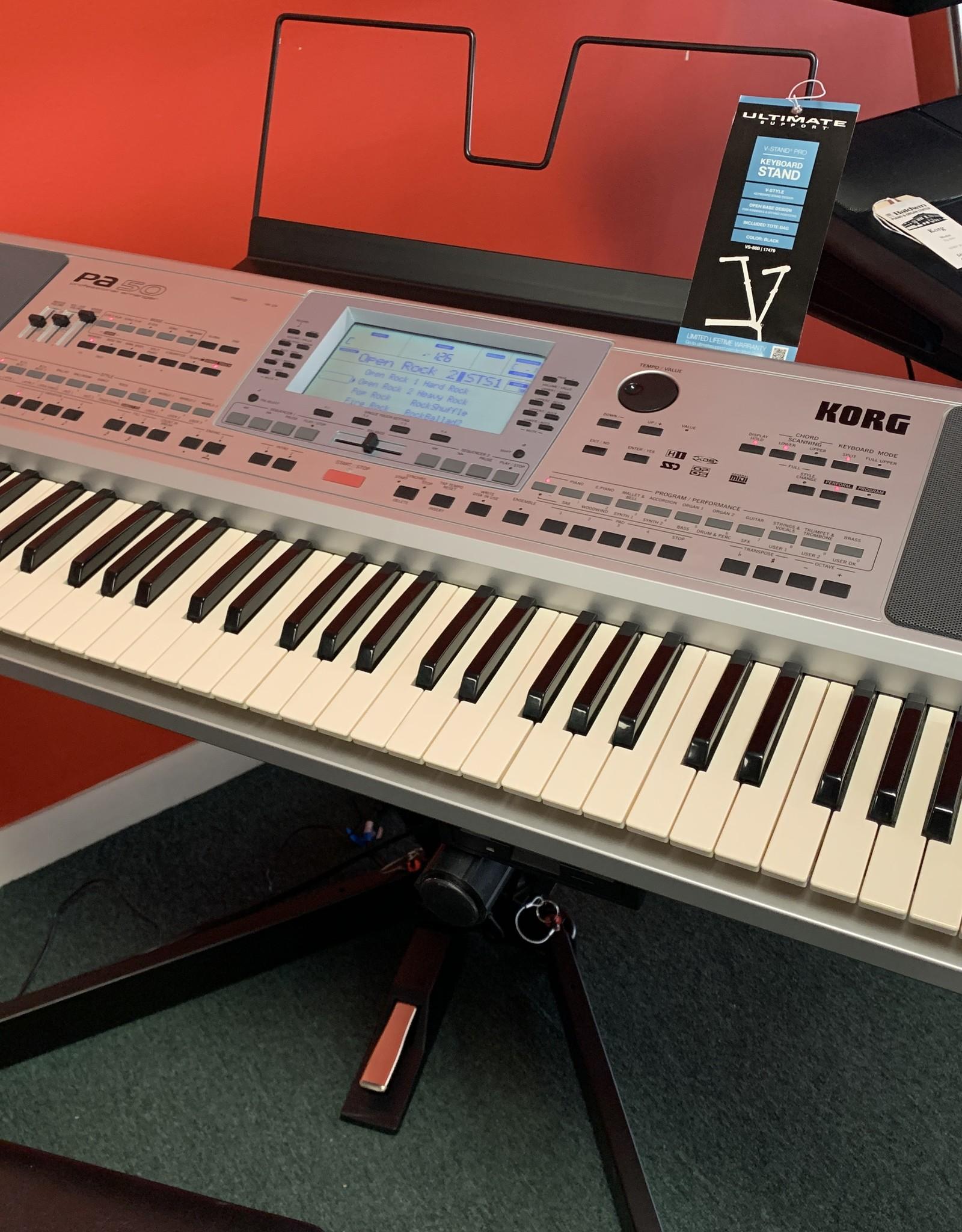 Korg Korg PA-50 Professional Arranger Keyboard (Pre-Owned)