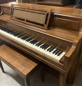 Henry F Miller Henry F Miller Console Piano (Pine)(Pre-Owned)