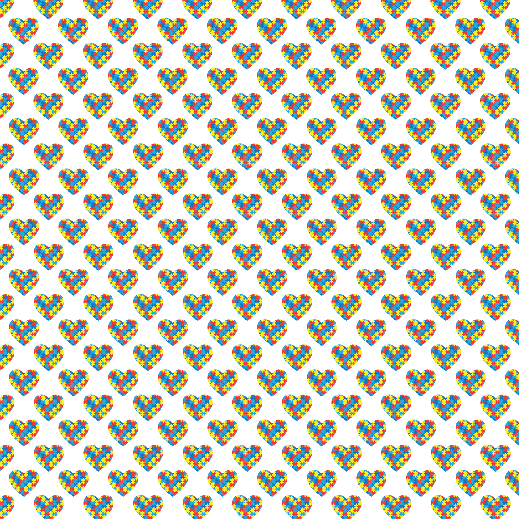 TVD Puzzle Piece Hearts