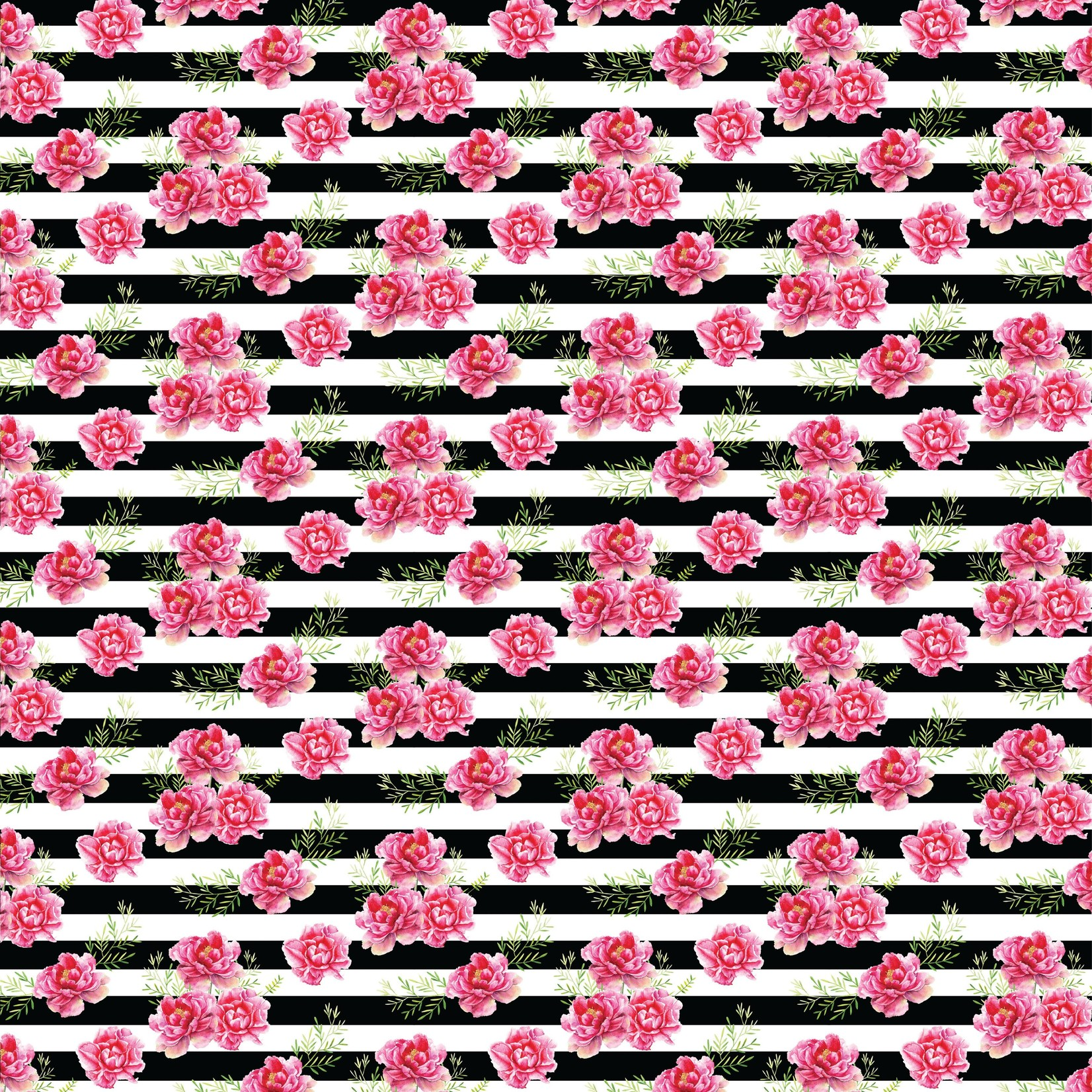 TVD Roses with Stripes