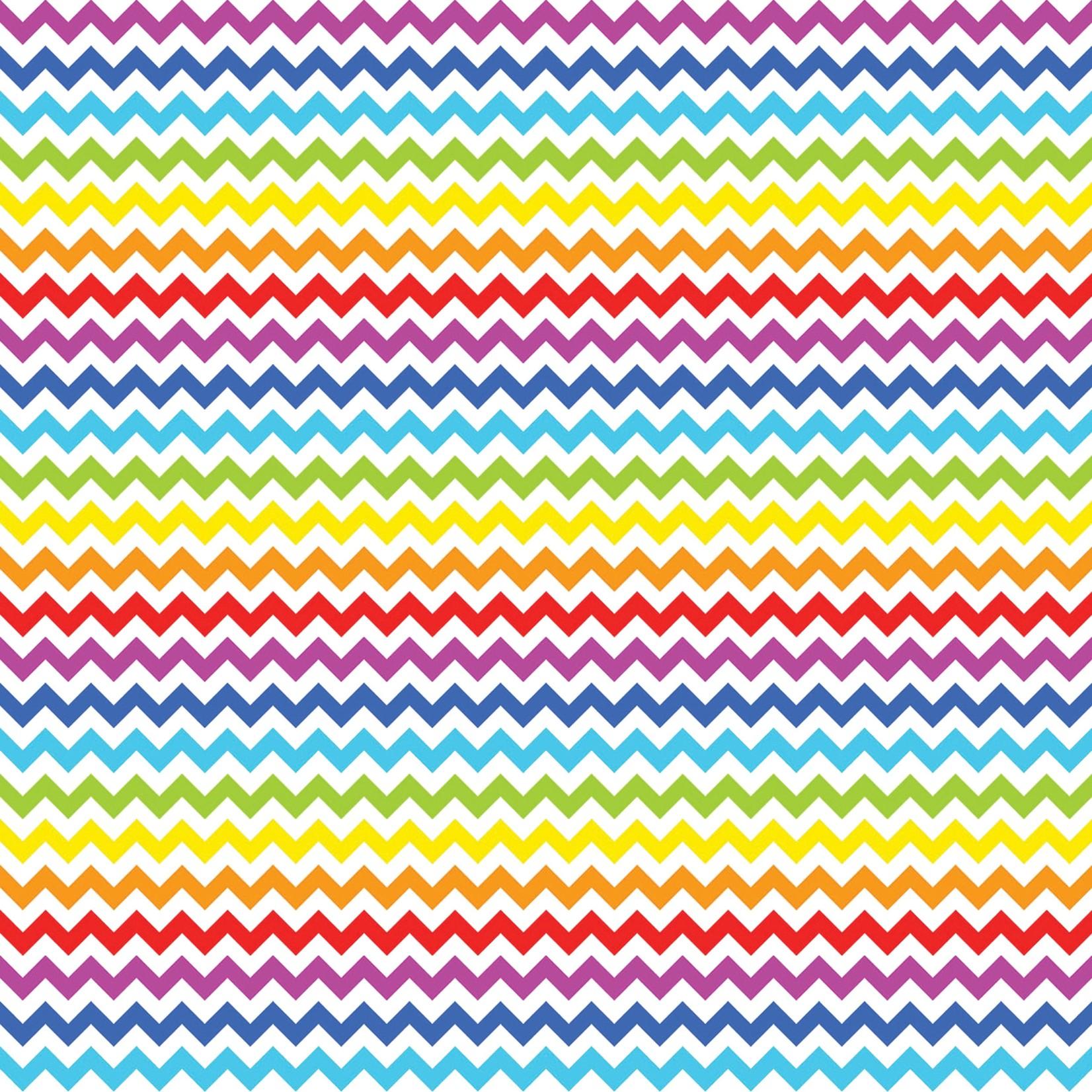 TVD Rainbow Chevron