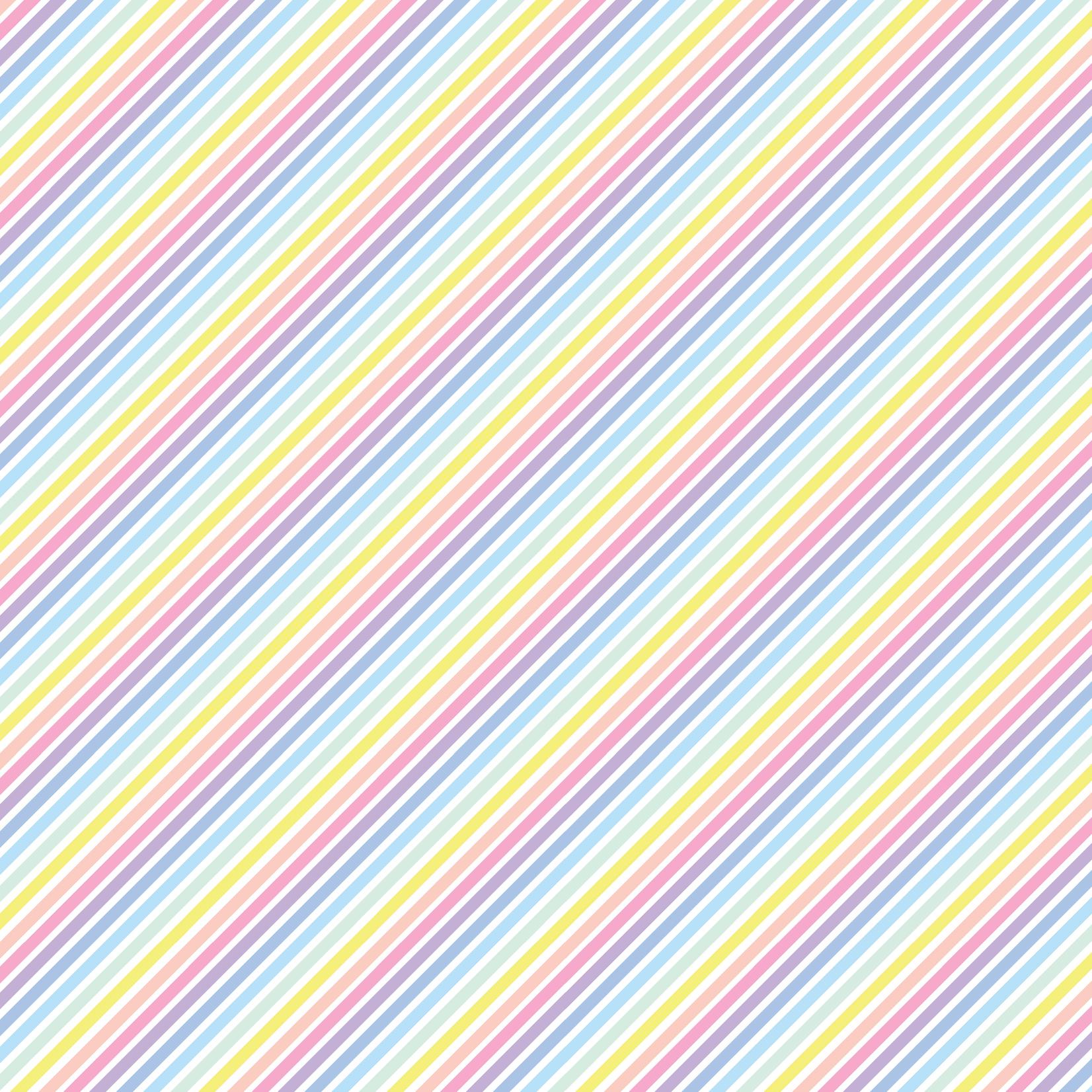 TVD Diagonal Pastel Stripes