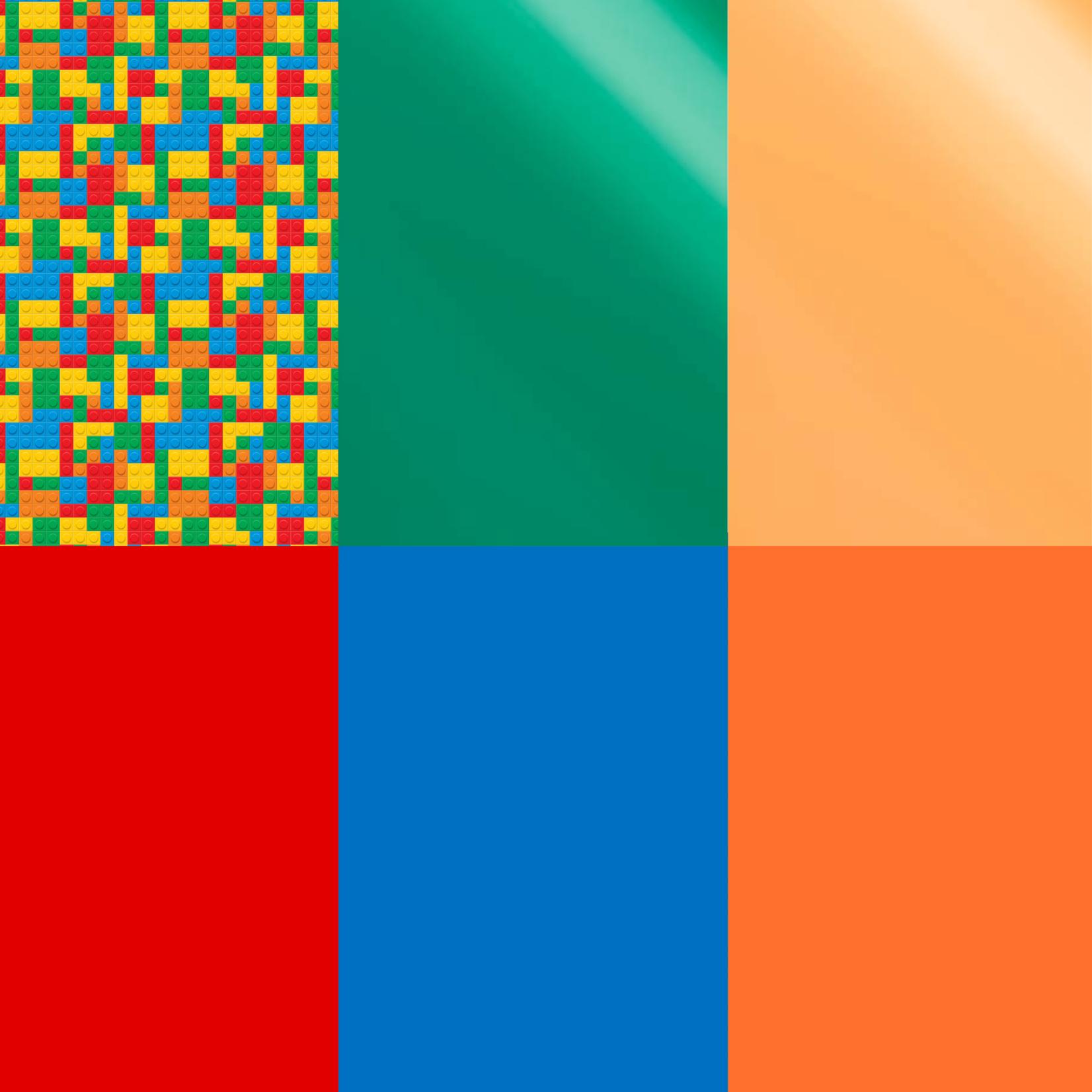HTV Pack Colorful Bricks