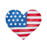 TVD American Watercolor Heart Transfer