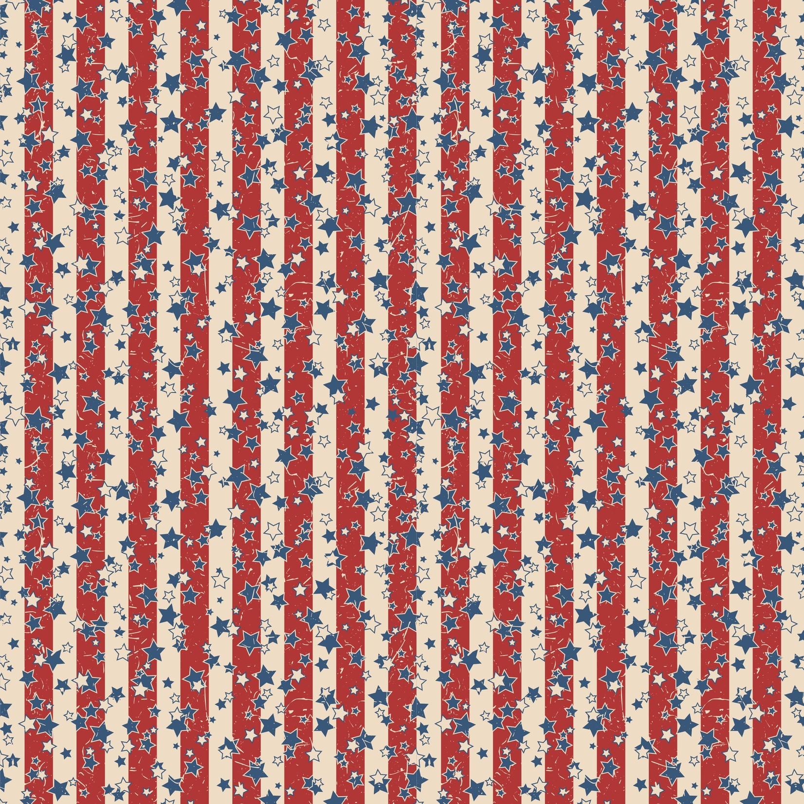 TVD Retro Stars and Stripes