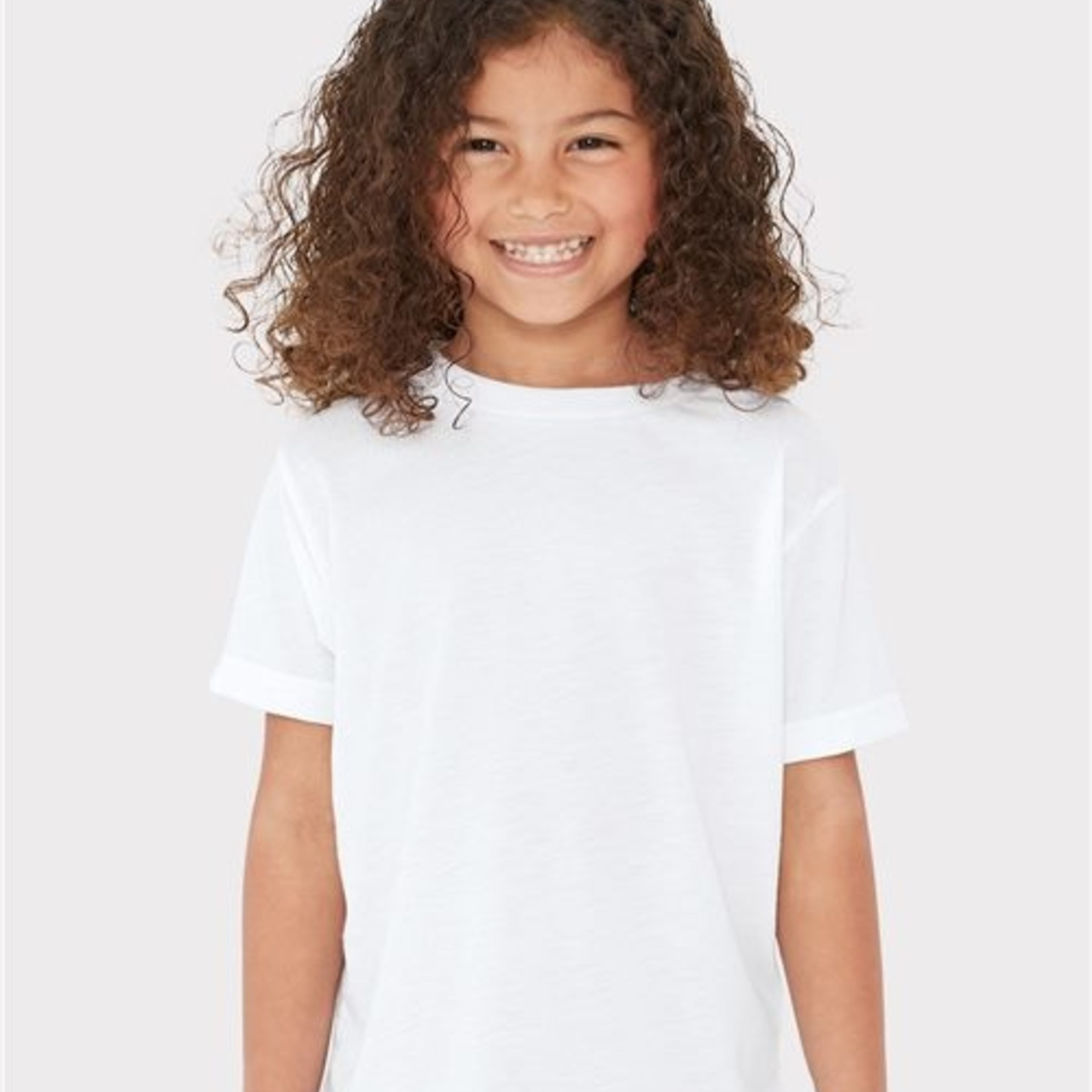 Toddler White Sublimation Tee
