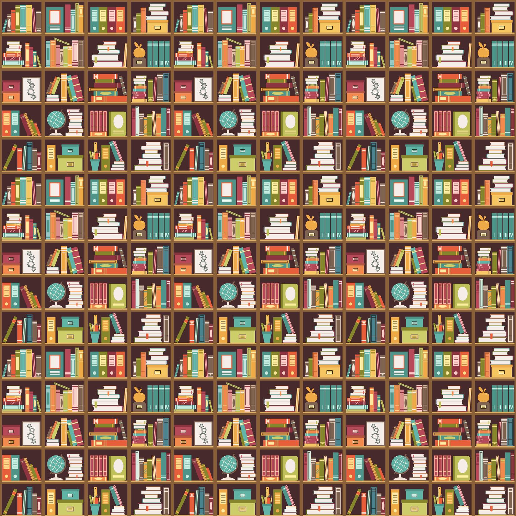 TVD Bookshelves