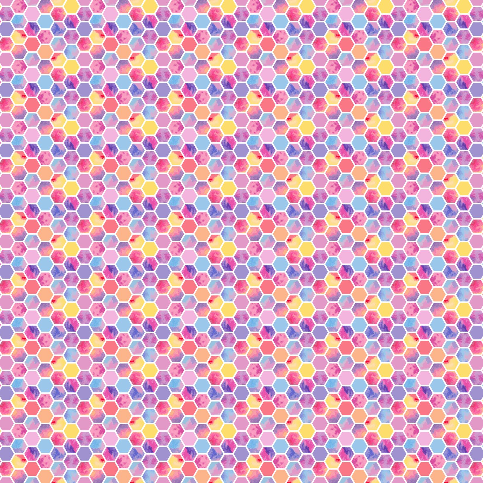 TVD Pastel Hexagon