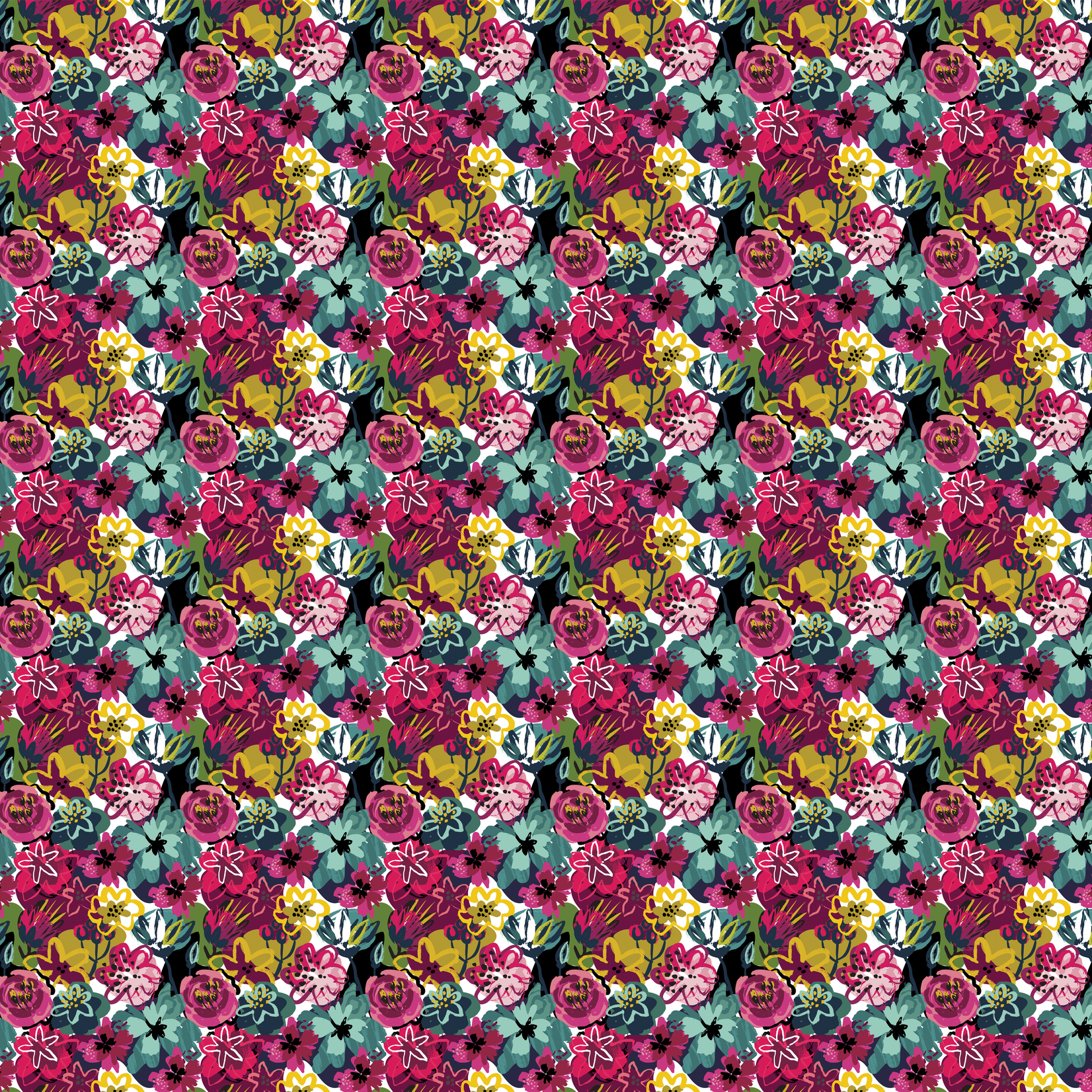 TVD Spring Flowerbed