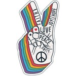 TVD Peace Hand Sign Transfer
