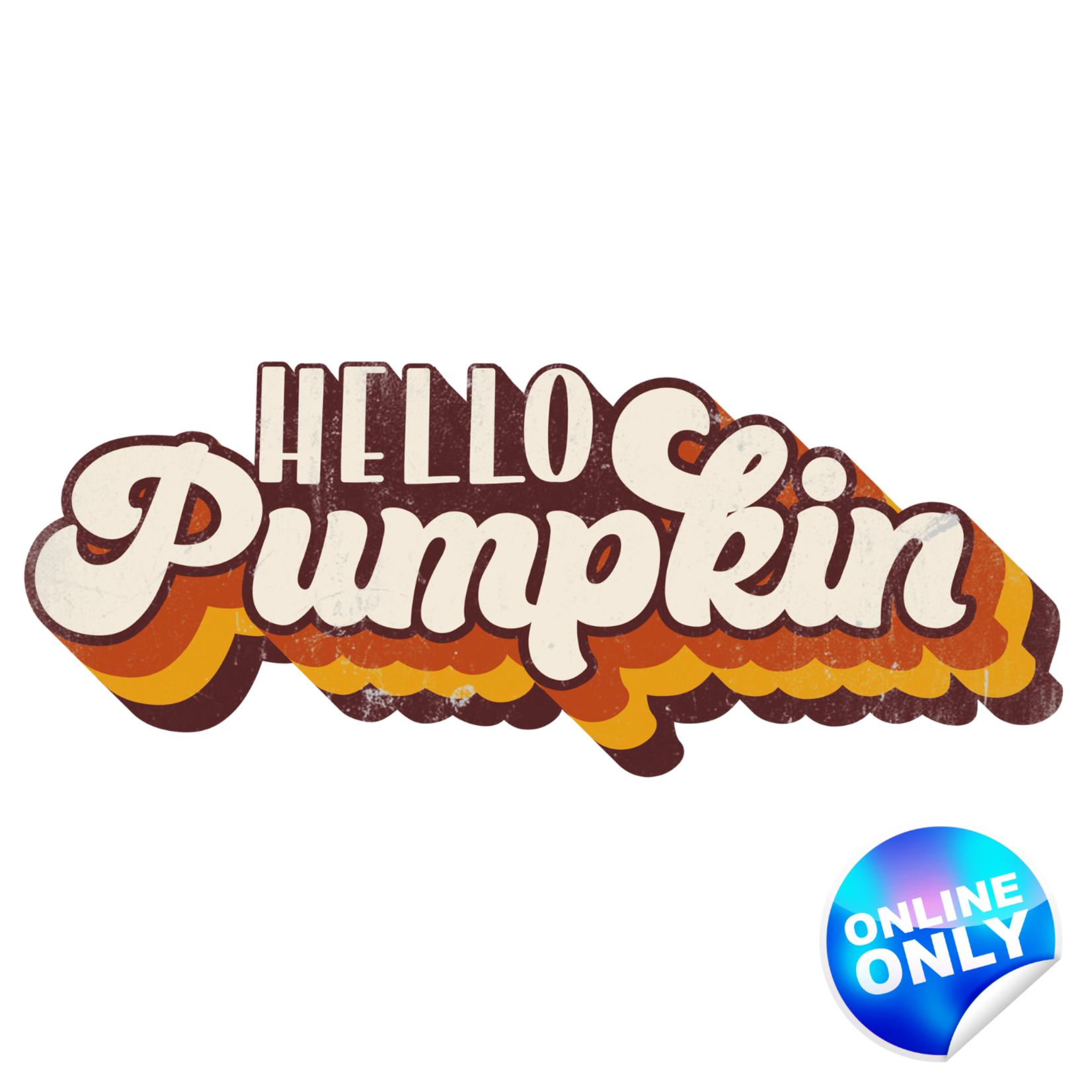 TVD Hello Pumpkin Retro