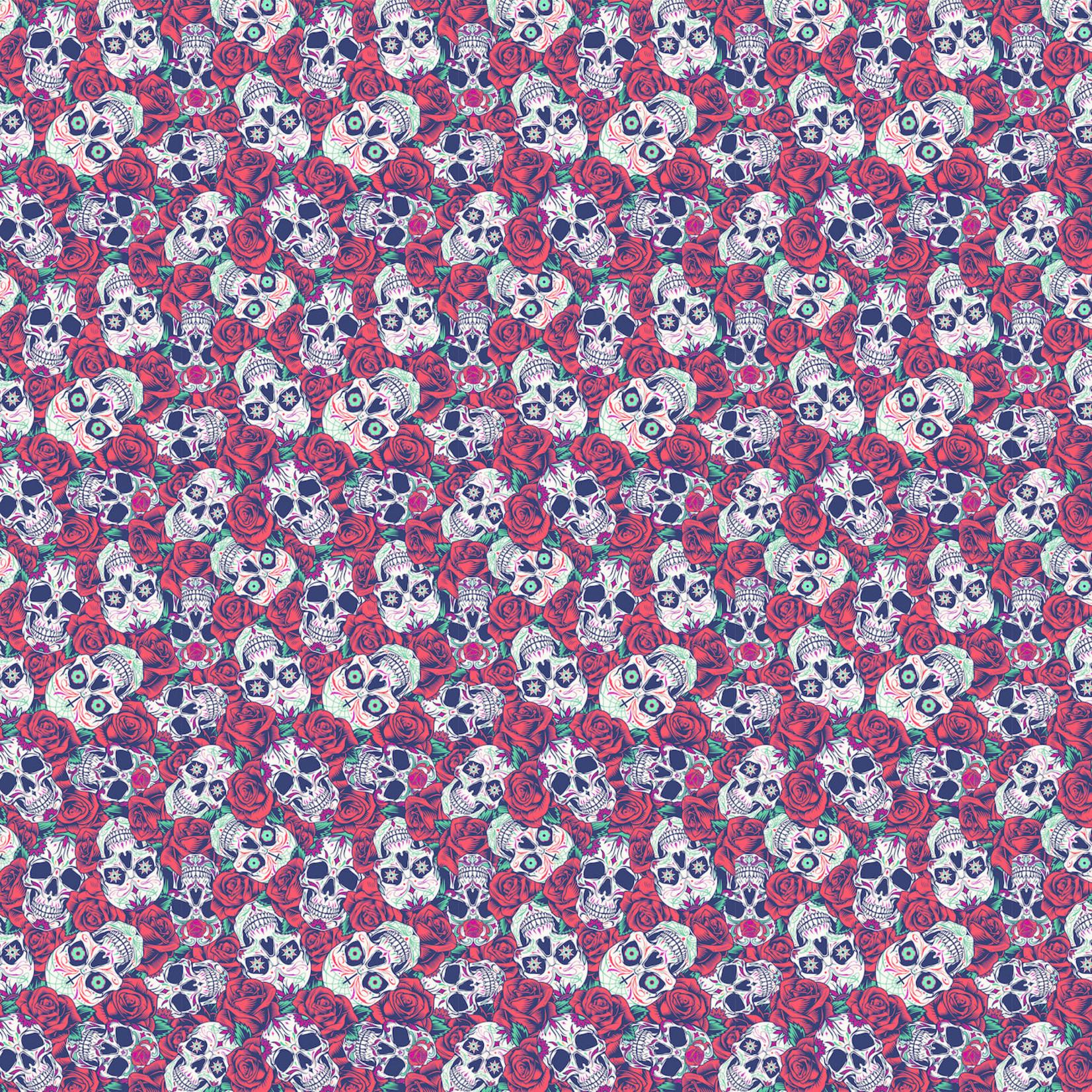 TVD Sugar Skulls With Roses
