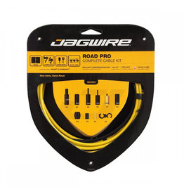 Jagwire Jagwire Racer Complete Road Brake & Derailleur DIY Kit Yellow