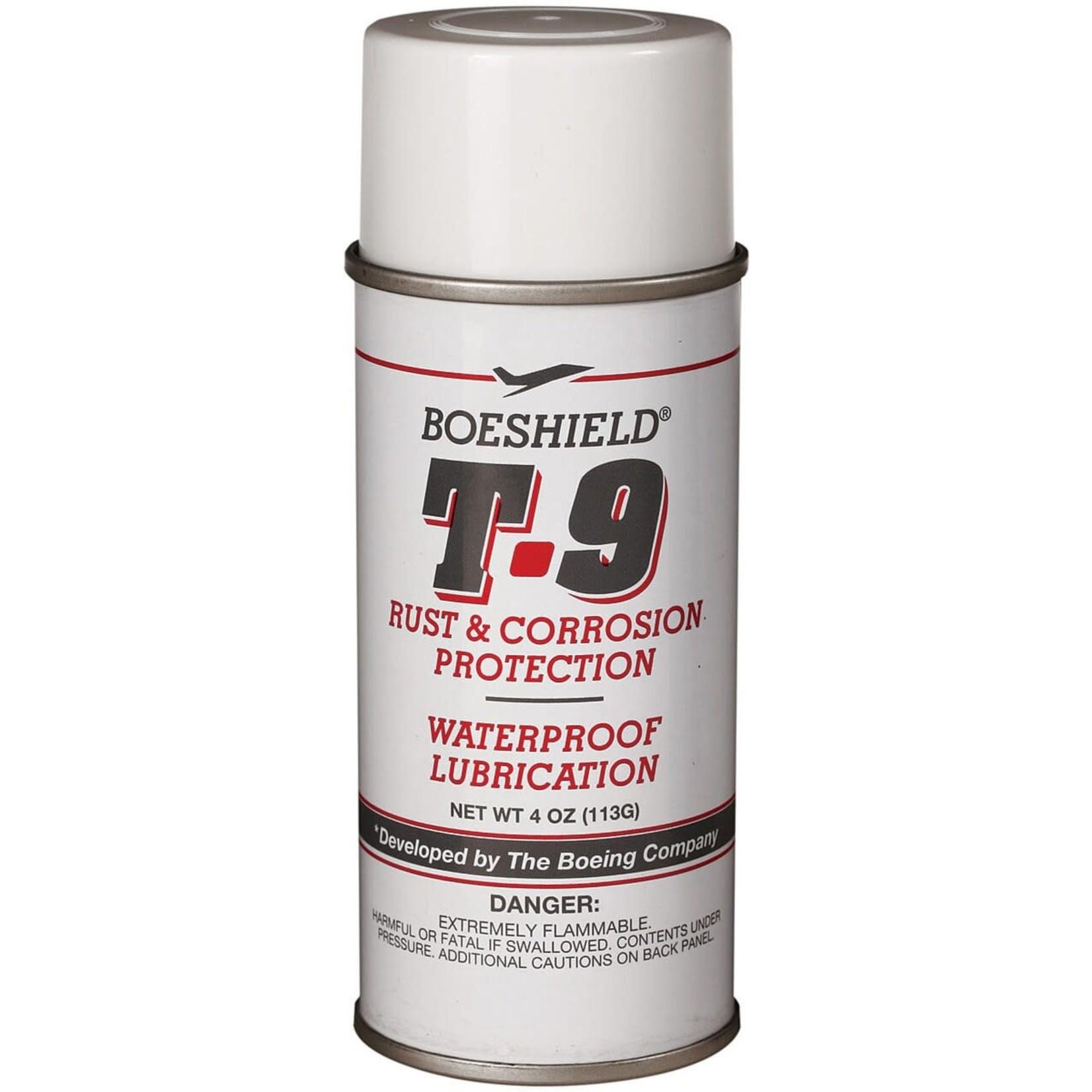 Boeshield Boeshield T9 4oz Aerosol Chain Lube and Rust Inhibitor
