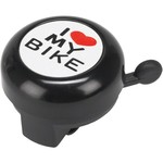 Dimension Dimension I Heart My Bike Bell Black