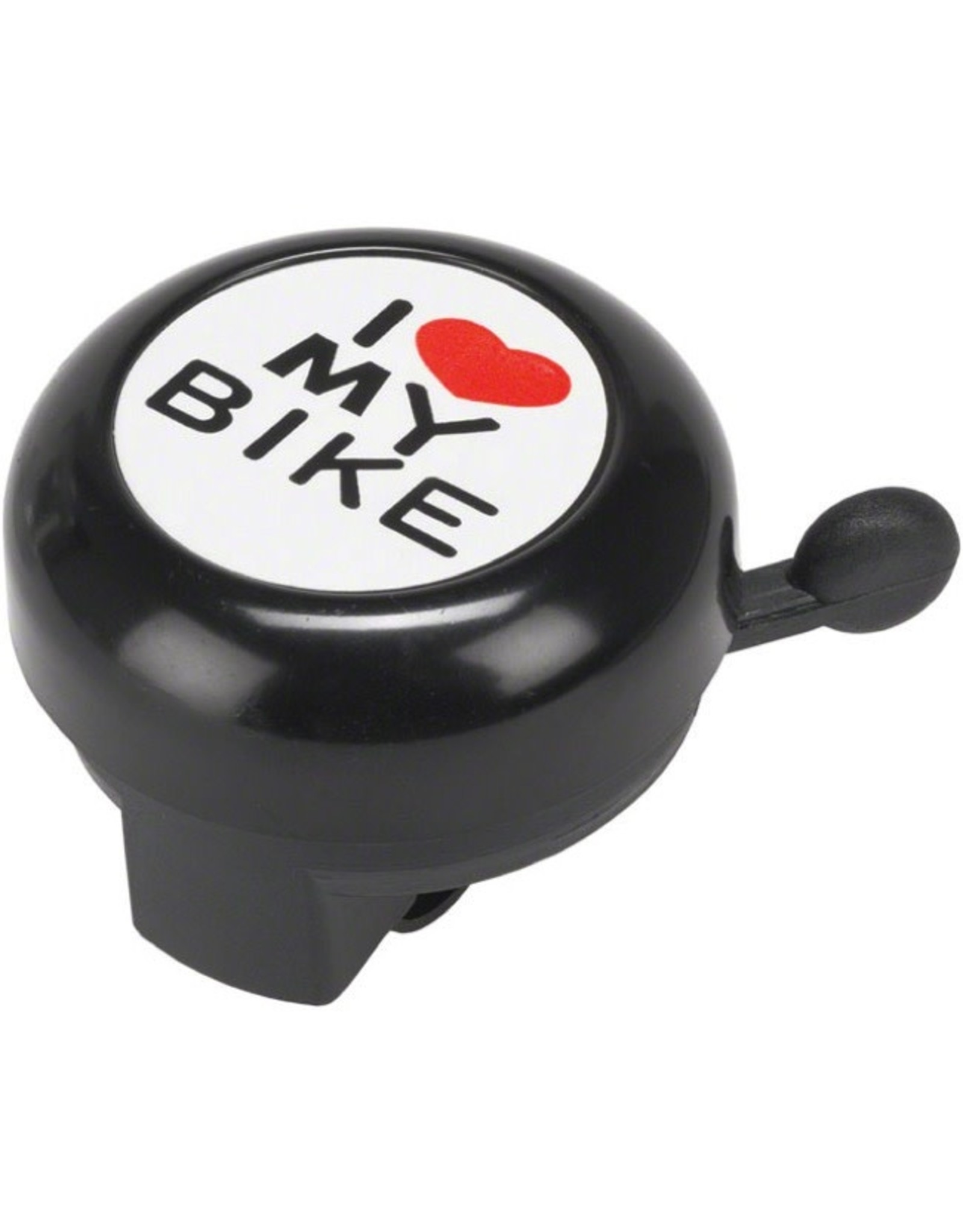 Dimension Dimension I Heart My Bike Bell Black